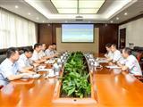 中铁物贸集团总经理黄怀朋一行到 欧冠转播万博ynba预测分析万博app开展业务交流